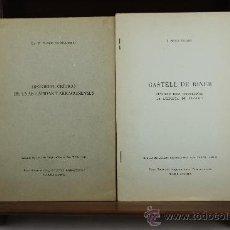 Libros de segunda mano: 3707- EXTRACTOS DEL BOLETIN ARQUEOLOGICO. 2 TITULOS. VER DESCRIPCION. . Lote 38985038