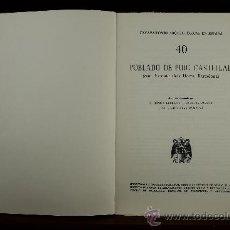 Libros de segunda mano: 3708- POBLADO DE PUIG CASTELLAR. SANT VICENS DELS HORTS. E. RIPOLL PERELLO. 1965. . Lote 45499516