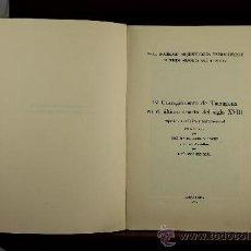 Libros de segunda mano: 3744- EL CORREGIMIENTO DE TARRAGONA EN EL ULTIMO CUARTO DEL SIGLO XVIII. JOSE MªRECASENS. 1963.. Lote 39067831