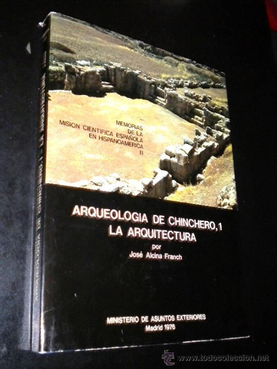 Libros de segunda mano: arqueologia de chinchero 1 y 2 arquitectura y ceramica / jose alcina franch, rivera, galvan, ramos.. - Foto 3 - 39187014