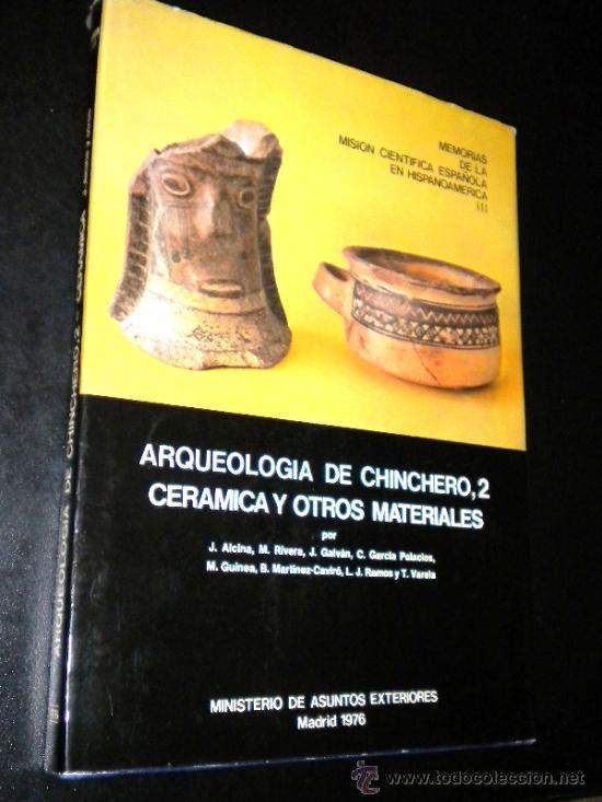 Libros de segunda mano: arqueologia de chinchero 1 y 2 arquitectura y ceramica / jose alcina franch, rivera, galvan, ramos.. - Foto 2 - 39187014
