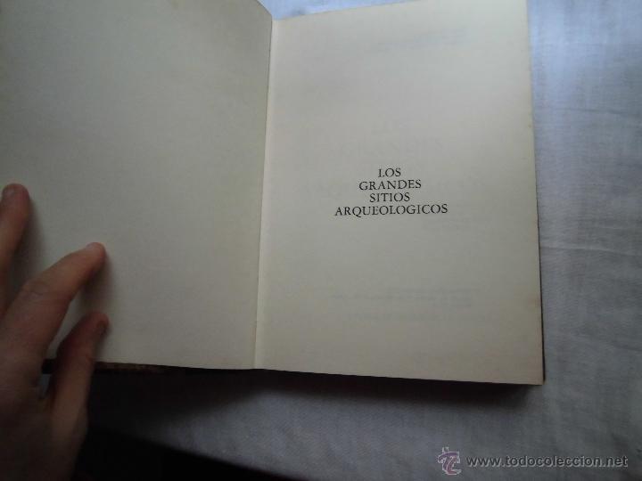 Libros de segunda mano: LOS GRANDES SITIOS ARQUEOLOGICOS.-ANNEQUIN-BAUDRY-DE GANS-VERBEEK.-CIRCULO AMIGOS DE LA HISTORIA 197 - Foto 5 - 41353425