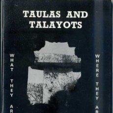 Libros de segunda mano: HOSKIN & WALDREN : TAULAS AND TALAYOTS - MENORCA (1988) MUY ILUSTRADO. Lote 43216740