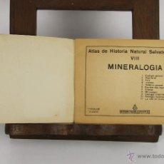 Libros de segunda mano: 4657- ATLAS DE HISTORIA NATURAL SALVATELLA. EDIT. SALVATELLA. 1953. TOMO 8. . Lote 43509480