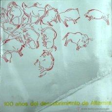 Libros de segunda mano: ALTAMIRA. 100 AÑOS DEL DESCUBRIMIENTO. Lote 44241554