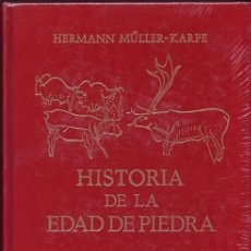 Libros de segunda mano: HISTORIA DE LA EDAD DE PIEDRA. HERMANN MÜLLER-KARPE. MADRID, EDITORIAL GREDOS, 1982. Lote 170388081