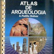 Libros de segunda mano: ATLAS JOVER DE ARQUEOLOGÍA (1988). Lote 45091239