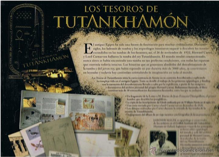 Libros de segunda mano: LIBRO LOS TESOROS DE TUTANKHAMÓN JAROMIR MALEK - Foto 3 - 227024085