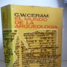 Livres d'occasion: EL MUNDO DE LA ARQUEOLOGÍA. Lote 46704858