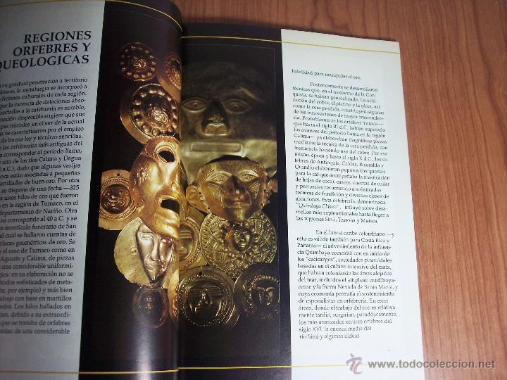Libros de segunda mano: ORO PRECOLOMBIANO (Nº 5 NOVIEMBRE DE 1989) MAYR & CABAL LTDA. EDITORES - Foto 3 - 46757067
