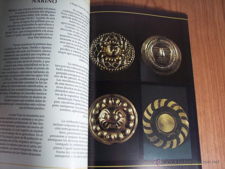 Libros de segunda mano: ORO PRECOLOMBIANO (Nº 5 NOVIEMBRE DE 1989) MAYR & CABAL LTDA. EDITORES - Foto 4 - 46757067