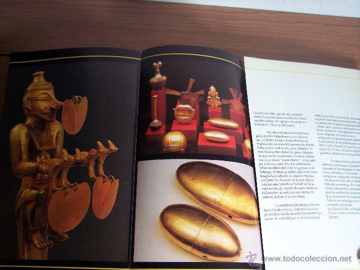 Libros de segunda mano: ORO PRECOLOMBIANO (Nº 5 NOVIEMBRE DE 1989) MAYR & CABAL LTDA. EDITORES - Foto 5 - 46757067
