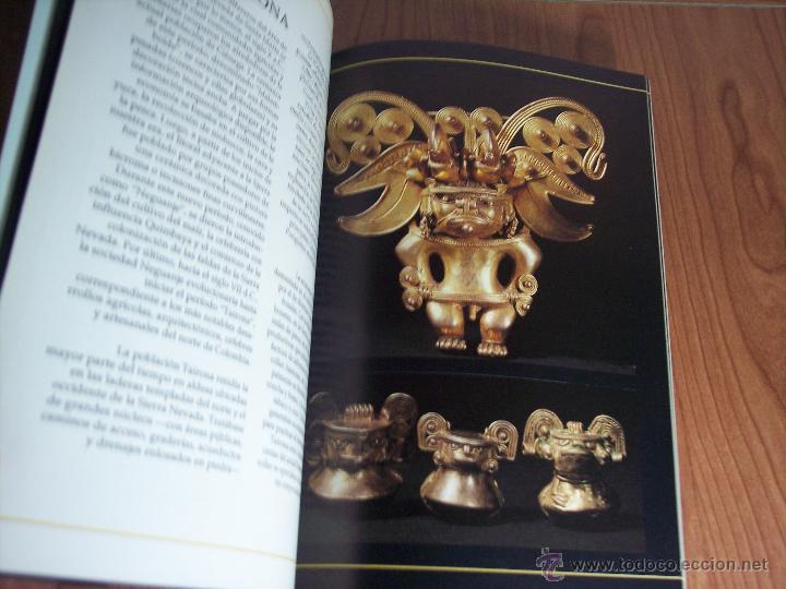 Libros de segunda mano: ORO PRECOLOMBIANO (Nº 5 NOVIEMBRE DE 1989) MAYR & CABAL LTDA. EDITORES - Foto 7 - 46757067