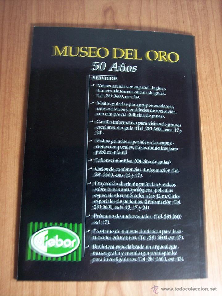 Libros de segunda mano: ORO PRECOLOMBIANO (Nº 5 NOVIEMBRE DE 1989) MAYR & CABAL LTDA. EDITORES - Foto 9 - 46757067