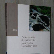 Libros de segunda mano: PUESTA EN VALOR DEL PATRIMONIO ARQUEOLÓGICO EN CASTILLA Y LEÓN. ACTAS. . Lote 47243757