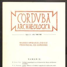 Libros de segunda mano: CORDUBA ARCHAELOGICA NÚM. 9 AÑO 1980-1981. Lote 47476866