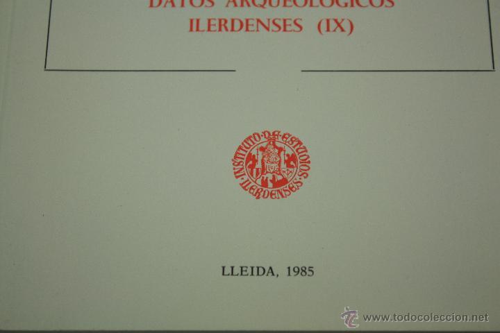 Libros de segunda mano: DATOS ARQUEOLÓGICOS ILERDENSES (IX) LERIDA - Foto 2 - 47557362