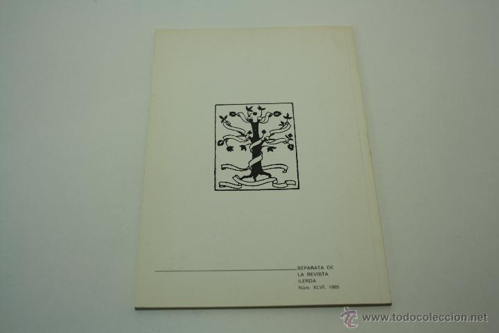 Libros de segunda mano: DATOS ARQUEOLÓGICOS ILERDENSES (IX) LERIDA - Foto 3 - 47557362