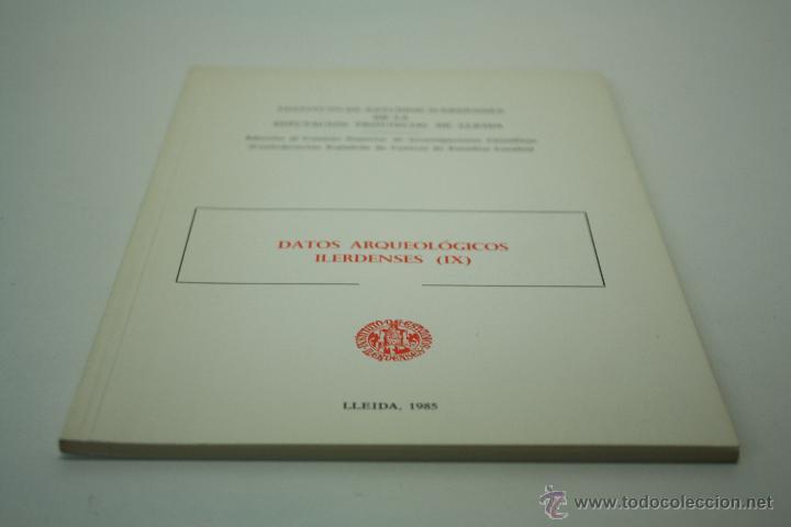 Libros de segunda mano: DATOS ARQUEOLÓGICOS ILERDENSES (IX) LERIDA - Foto 4 - 47557362