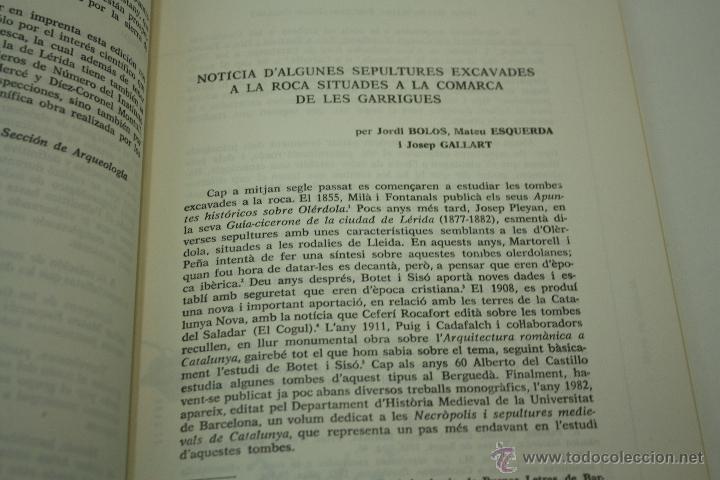 Libros de segunda mano: DATOS ARQUEOLÓGICOS ILERDENSES (IX) LERIDA - Foto 6 - 47557362