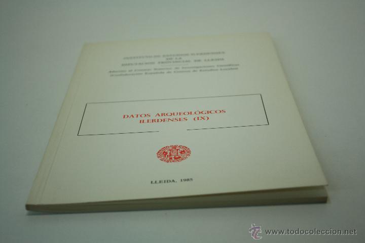 Libros de segunda mano: DATOS ARQUEOLÓGICOS ILERDENSES (IX) LERIDA - Foto 11 - 47557362
