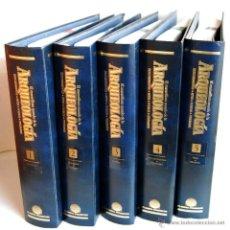 Libros de segunda mano: EL MARAVILLOSO MUNDO DE LA ARQUEOLOGÍA COLECCIÓN PLANETA DE AGOSTINI 5 VOLUMENES CARPETAS TOMOS. Lote 48806588