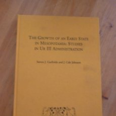Libros de segunda mano: THE GROWTH OF AN EARLY STATE IN MESOPOTAMIA. CALE JOHNSON. CESIC. 2008 323 PAG. Lote 49657619
