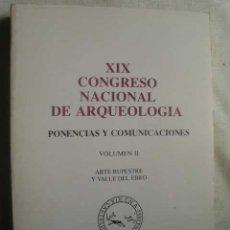 Libros de segunda mano: PONENCIAS Y COMUNICACIONES. VOL II. ARTE RUPESTRE Y VALLE DEL EBRO. . Lote 50393469