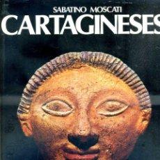 Libros de segunda mano: SABATINO MOSCATI : CARTAGINESES (ENCUENTRO, 1983) GRAN FORMATO. Lote 51359635