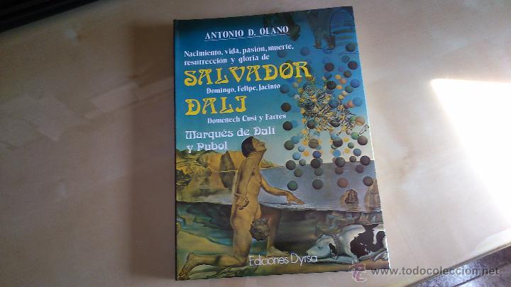 LIBRO BIOGRAFÍA DE SALVADOR DALÍ - ANTONIO D. OLANO - EDICIONES DYRSA - 1985 (NUEVO) (Libros de Segunda Mano - Ciencias, Manuales y Oficios - Arqueología)