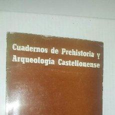 Libros de segunda mano: CUADERNO DE PREHISTORIA Y ARQUEOLOGIA CASTELLONENSE N°2 1975. Lote 52933268