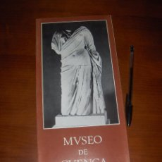 Libros de segunda mano - MUSEO DE CUENCA, DESPLEGABLE. MINISTERIO DE EDUCACION Y CIENCIA, BELLAS ARTES 1974. - 53149743