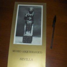 Libros de segunda mano: MUSEO ARQUEOLOGICO DE SEVILLA, DESPLEGABLE. MINISTERIO DE EDUCACION Y CIENCIA, BELLAS ARTES 1973. . Lote 53153531