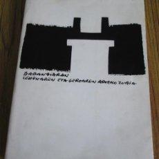Libros de segunda mano: MUNIBE ANTROPOLOGÍA ARKEOLOGIA SOCIEDAD DE LAS CIENCIAS ARANZADIS HOMENAJE A BARANDIARÁN. Lote 53266671