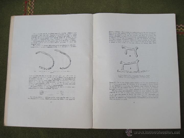 Libros de segunda mano: EL POBLADO Y NECROPOLIS PREHISTORICOS DE MOLA ( TARRAGONA ) ACTA ARQUEOLOGICA HISPANICA I. - Foto 4 - 53433833