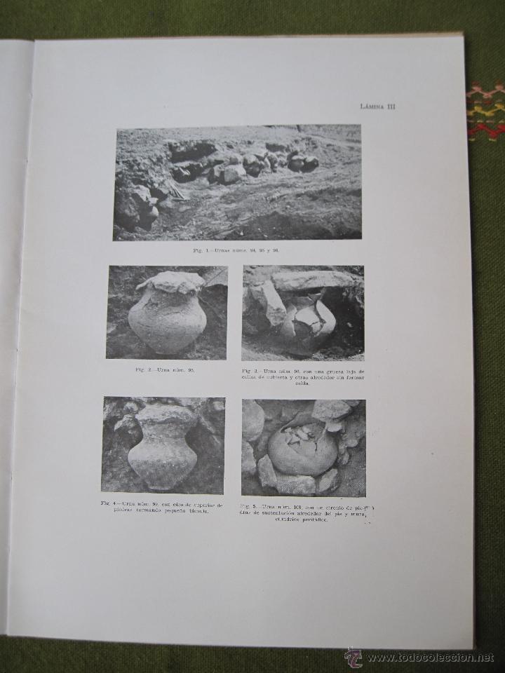 Libros de segunda mano: EL POBLADO Y NECROPOLIS PREHISTORICOS DE MOLA ( TARRAGONA ) ACTA ARQUEOLOGICA HISPANICA I. - Foto 7 - 53433833