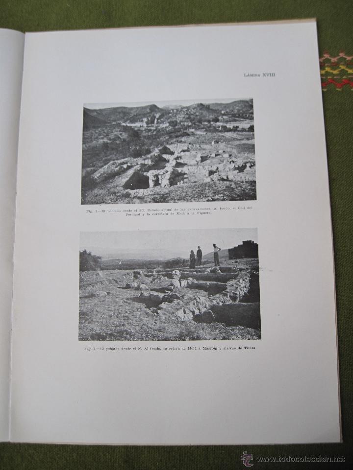 Libros de segunda mano: EL POBLADO Y NECROPOLIS PREHISTORICOS DE MOLA ( TARRAGONA ) ACTA ARQUEOLOGICA HISPANICA I. - Foto 8 - 53433833