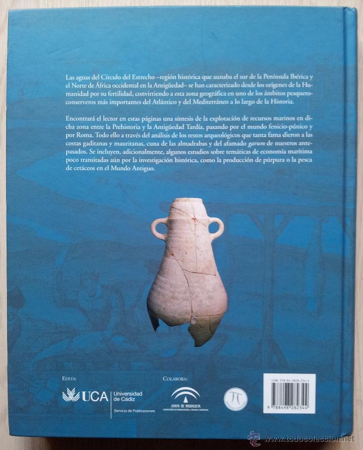 Libros de segunda mano: ARQUEOLOGIA DE LA PESCA EN EL ESTRECHO DE GIBRALTAR - D. BERNAL CASASOLA - Foto 2 - 54169364