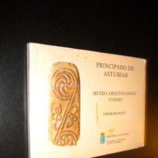Libros de segunda mano: MUSEO ARQUEOLOGICO OVIEDO PRERROMANICO / 36 DIAPOSITIVAS. Lote 54387998