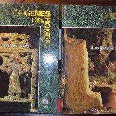 Libros de segunda mano: ORIGENES DEL HOMBRE. TIME LIFE FOLIO NUM 23 Y 24 TOMOS I Y II. LOS FENICIOS BARCELONA 1994. Lote 102401982