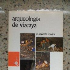 Libros de segunda mano: TEMAS VIZCAINOS 117 ARQUEOLOGIA DE VIZCAYA. Lote 55030288