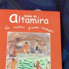 Libros de segunda mano: MUSEO DE ALTAMIRA DE NIÑOS PARA NIÑOS -2002. Lote 56305568