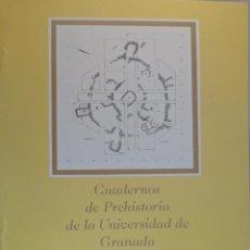 Libros de segunda mano: CUADERNOS DE PREHISTORIA DE LA UNIVERSIDAD DE GRANADA Nº 8. 1983. Lote 59210253
