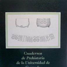 Libros de segunda mano: CUADERNOS DE PREHISTORIA DE LA UNIVERSIDAD DE GRANADA Nº7. 1982. Lote 57394921