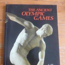 Libros de segunda mano: THE ANCIENT OLYMPIC GAMES JUDITH SWADDLING EDITORIAL: BRITISH MUSEUM PRESS . Lote 57670842