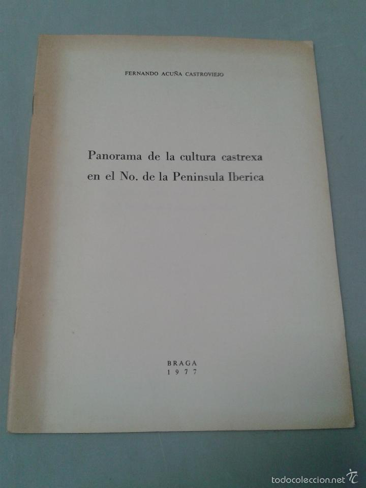 PANORAMA DE LA CULTURA CASTREXA EN EL NOROESTE DE LA PENÍNSULA IBÉRICA. FERNANDO ACUÑA CASTROVIEJO. (Libros de Segunda Mano - Ciencias, Manuales y Oficios - Arqueología)