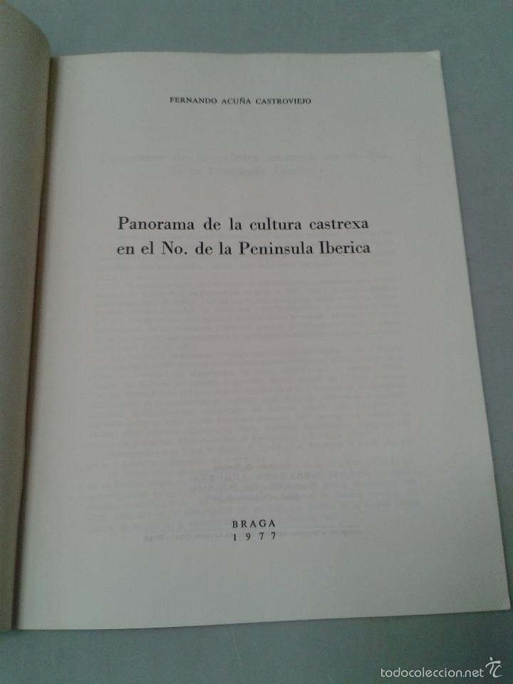 Libros de segunda mano: Panorama de la Cultura Castrexa en el Noroeste de la Península Ibérica. Fernando Acuña Castroviejo. - Foto 4 - 58017873