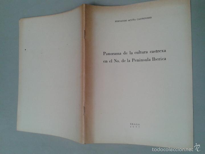 Libros de segunda mano: Panorama de la Cultura Castrexa en el Noroeste de la Península Ibérica. Fernando Acuña Castroviejo. - Foto 6 - 58017873
