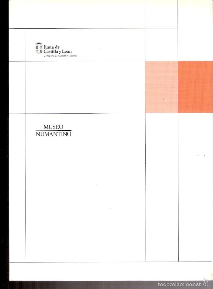 Libros de segunda mano: Museo Numantino. Restauración de bienes arqueológicos.Diciembre 1991. Junta de Castilla y León. - Foto 2 - 58128401
