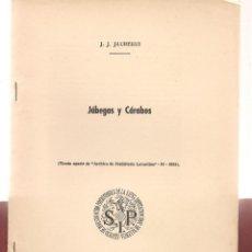 Libros de segunda mano: ARQUEOLOGIA JABEGAS Y CARABOS EMBARCACIONES ARCAICAS. Lote 288577298
